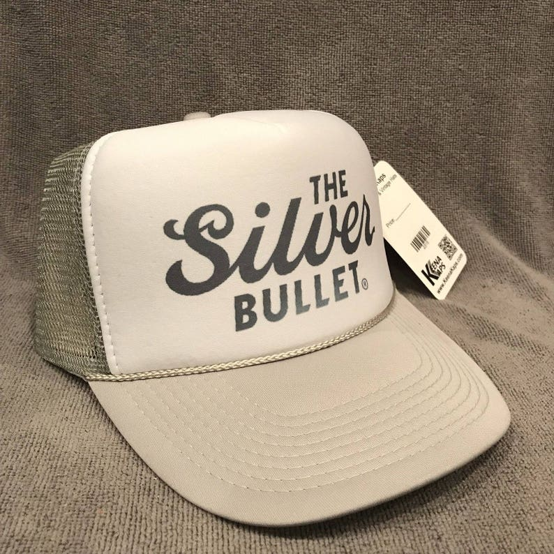 e2db45423 Coors Light Beer Trucker Hat The Silver Bullet Vintage Promo Snapback Cap  2316