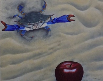 Crabapple - Oil painting