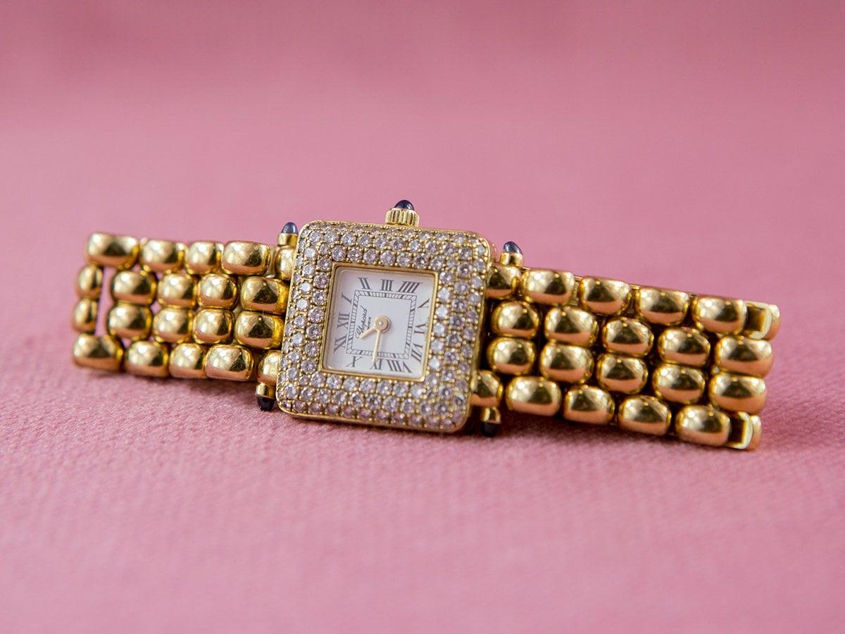 Chopard Classic Ladies 18k with Diamond Bezel | Etsy