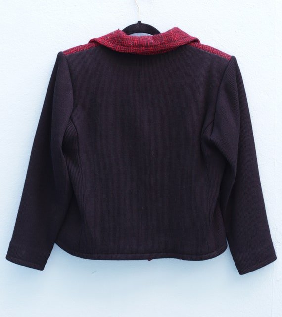 SAINT LAURENT Vintage Wool Jacket Circa 1970's Yv… - image 4