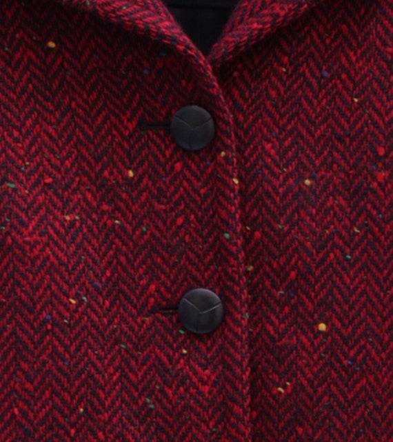 SAINT LAURENT Vintage Wool Jacket Circa 1970's Yv… - image 2