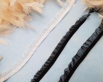 """2 m • """"Rustle"""" elastics for lingerie"""