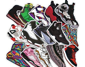 4333713d9df8 100 pcs Sneaker Sticker Bomb - Lapop Sticker