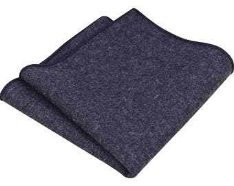 Jessica charcoal grey Pocket Square