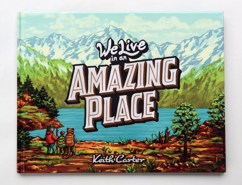 We Live in an Amazing Place  A Children's Book image 0