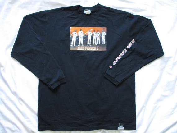 LIMITED EDITION Vintage NIKE Air Force 1 Original 6 Shirt Large