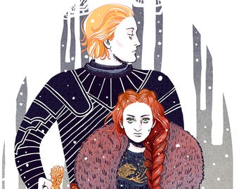 Game of Thrones - Brienne & Sansa
