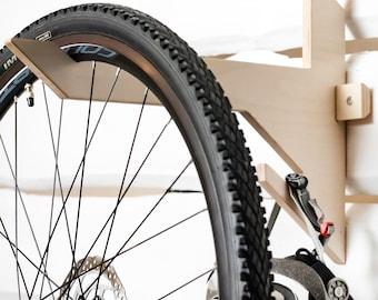 Bike Rack Vertical Holder Wall Mounted Indoor and Garage Storage