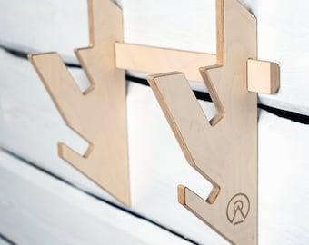 Wakeboard Rack-Snowboard Rack - Kiteboard Rack - Horizontal Wall-Mounted Indoor and Garage Board Storage Rack