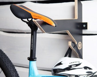 Bike Rack Holder Wall Mounted Indoor and Garage Storage