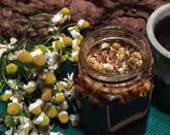 German Chamomile Infused Raw Honey