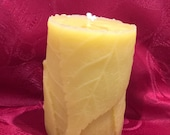 Bees Wax Folded Leaf Cand...