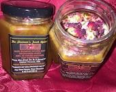 Rose Bud Infused Raw Honey