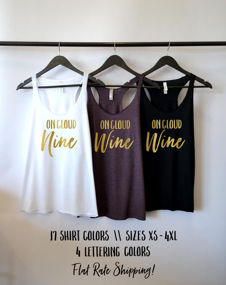 ace5a3e73 On Cloud Nine On Cloud Wine Tank Wine Shirts For Women On