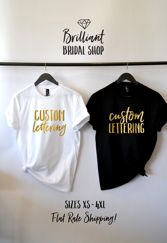 Custom Shirts Custom Tank Personalized Shirt Custom Etsy