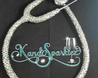 666729665fe54e Blinged Stethoscope