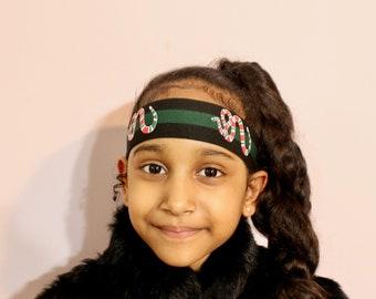 fd0d66cd1e1 Baby Headband Black   Green Snake Headband Unisex Headband Birthday Gifts  for Kids Fashion Headband Birthday Gifts