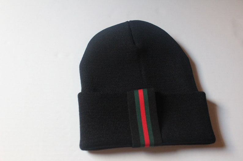 dd5a1f51b95 Gucci Inspired Beanie Man Designer Inspired Winter Hat Man