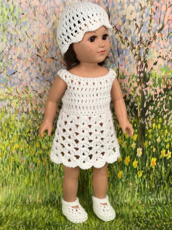Paid and Free Crochet Patterns for 18-inch Dolls Like the American ... | 760x570
