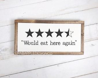 Kitchen Signs Etsy