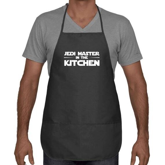 Star Wars Jedi-Meister in der Küche-Unisex-Schürze Geschenk