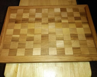 Custom Hickory cherry maple cutting board serving tray Thanksgiving Christmas gift