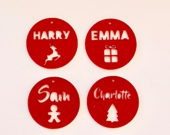 Custom acrylic Christmas decorations