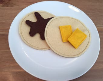 Felt Play Food - Pancake Set