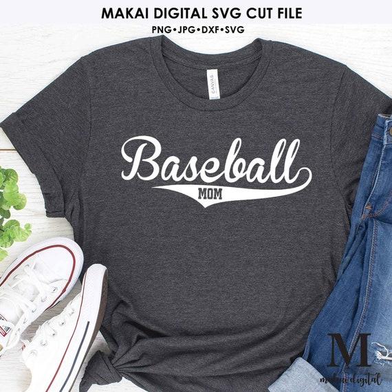 Baseball Mom Svg Baseball Shirt Svg Baseball Mom Shirt Svg Etsy
