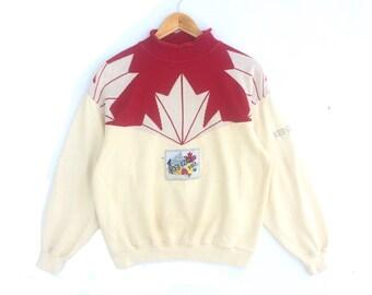 30% Off!! Vintage Kenzo Paris Multicolour Jumper Pullover Sweatshirt Size M