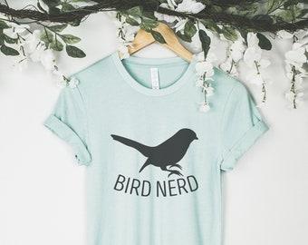 e5605c93 Bird Nerd, Bird Watcher Shirts, Bird Watching Shirt, Bird Watcher Shirt,  Bird Watcher Gifts, Bird Lover Shirt, Bird Shirts, Bird Gifts