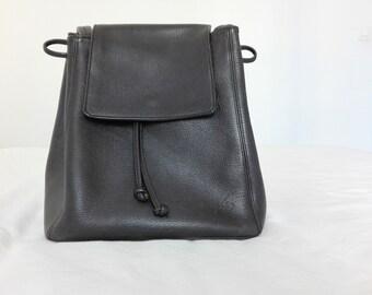 e680169ab4 Bucket Leather KENZO Vintage Shoulder Bag.Vintage Women Leather Shoulder Bag.Vintage  Minimalist Leather Bucket Shoulder bag.Gift for her