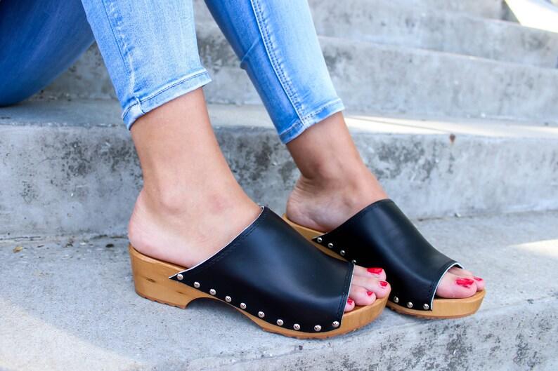 cf1d968294f7 Clog Sandal Shoes Clog sandals swedish clogs trends fashion