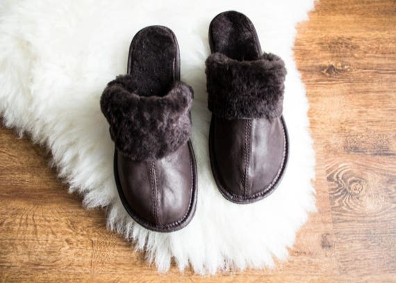 Frauen Schaffell Hausschuhe Stiefel 100 % Leder Pelz | Etsy