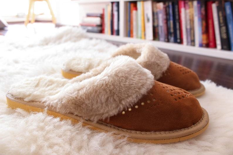 4144374a442cd Slippers Sheepskin slippers slippeers women moccasins women leather  slippers women slippers shearling slippers fur slippers leather boots