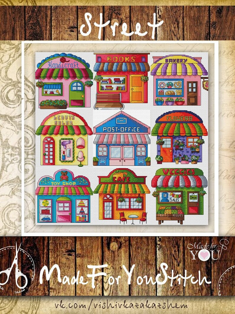 Hair Shop Cross Stitch Pattern Pdf Simple Plastic Canvas Pattern,Modern Interior Design For Medicine Retail Shop