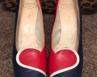 4239cfcf25ecc 1960s designer shoes | Etsy