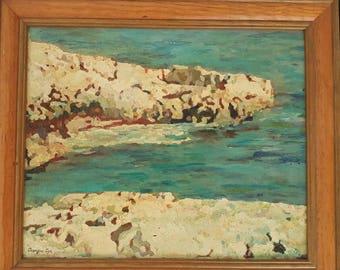 Georges Cyr painting