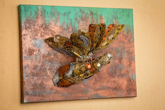 steampunk metal wall art made in the usa