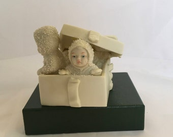 Snowbabies department 56 winter surprise. Porcelain figures