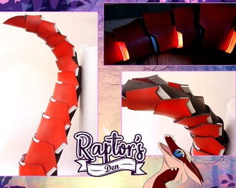Synth tail PDF pattern - Downloadable file only! Pictures are representative of the finished item