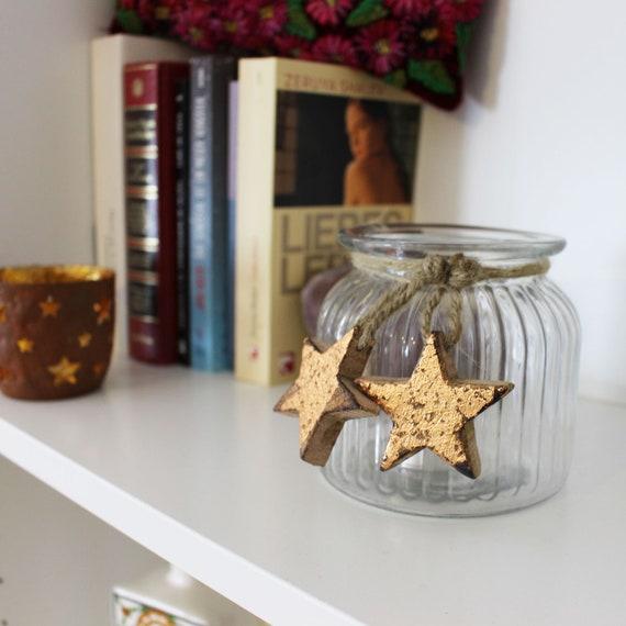 Teelichtschale Lumy bronze//kupfer Weihnachtsdeko Teelichthalter Windlicht Dekoschale aus Metall Strahlender Teelichthalter