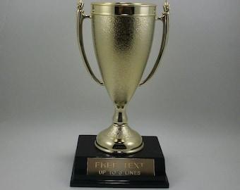 Cup Award Trophy. Free Engraving.