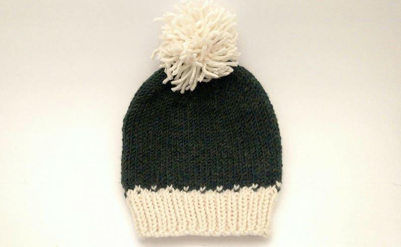 1bd8294d486 Knitted Pom-Pom Fair Isle Hat
