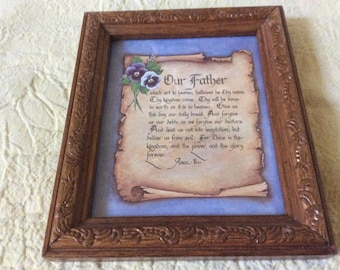 Religious wood wall frames