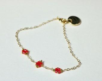 Chain bracelet, Bracelet, Bracelet or minimalist bracelet for women
