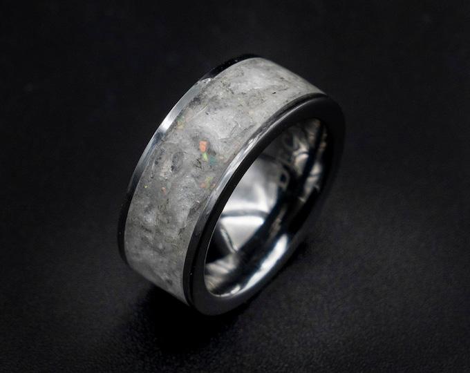 herkimer ring , Diamond, ring men, herkimer diamond engagement ring, jewelry, healing crystal, Raw stone ring, april birthstone ring, rough.