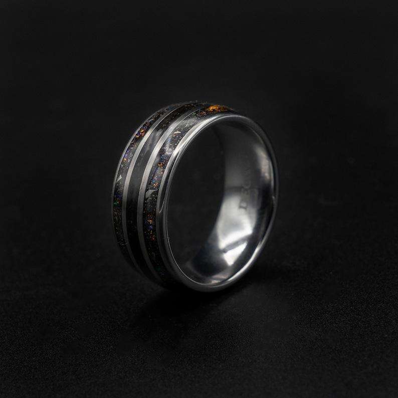 ring mens wedding band tungsten. tungsten ring men dinosaur bone wedding band dinosaur jewelry jewelry dinosaur bone meteorite ring
