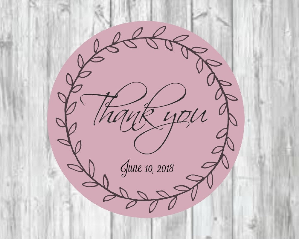 Thank You for coming label wedding label favor for wedding | Etsy