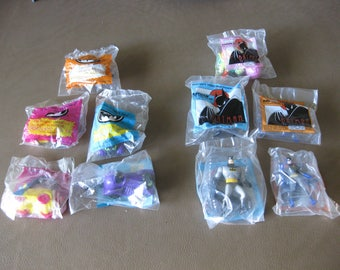 Batman McDonalds Happy Meal Toys 1991 and 1993 Sealed